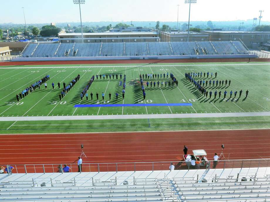 In observance of World Diabetes Day, members of the Martin High School Band spelled out HOPE at Shirley Field last November. According to LISD officials, about 70 students at LISD have some form of diabetes. Photo: Cuate Santos / Laredo Morning Times / Laredo Morning Times