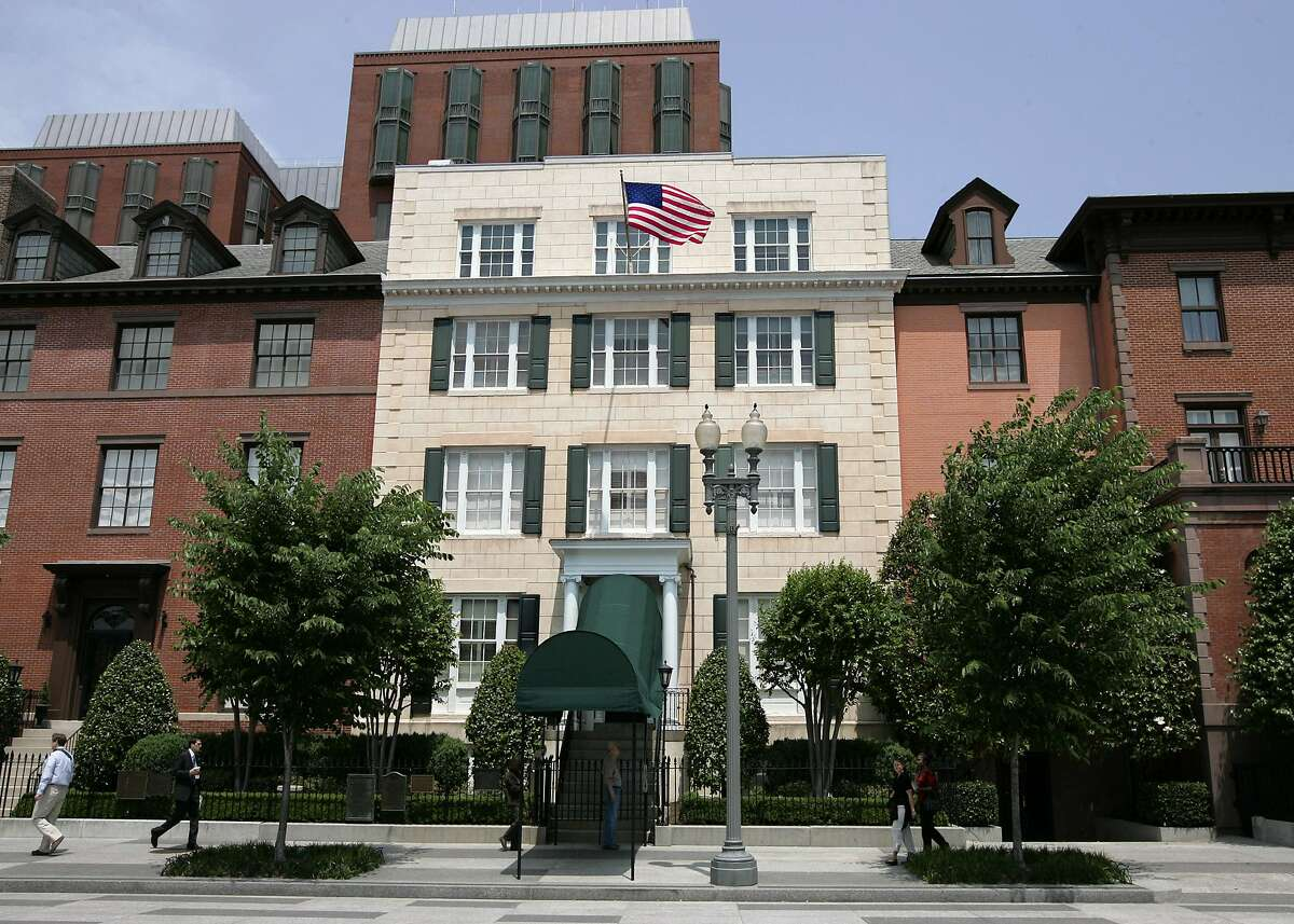 Blair House is the official state guesthouse for the U.S. president.