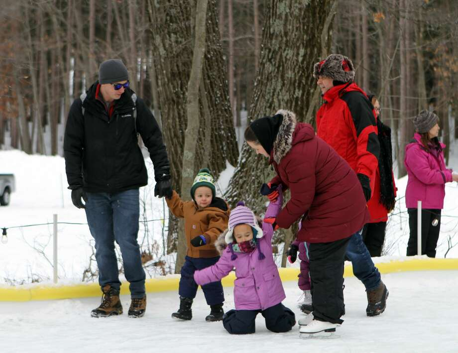Winterfest made its annual return to CranHill Ranch on Sunday. Ice climbing, broom ball, ice skating, and sledding were just some of the frozen activities taking place. CranHill Ranch will host a second day of Winterfest on Feb. 21. Photo: Pioneer Photo/Bradley Massman