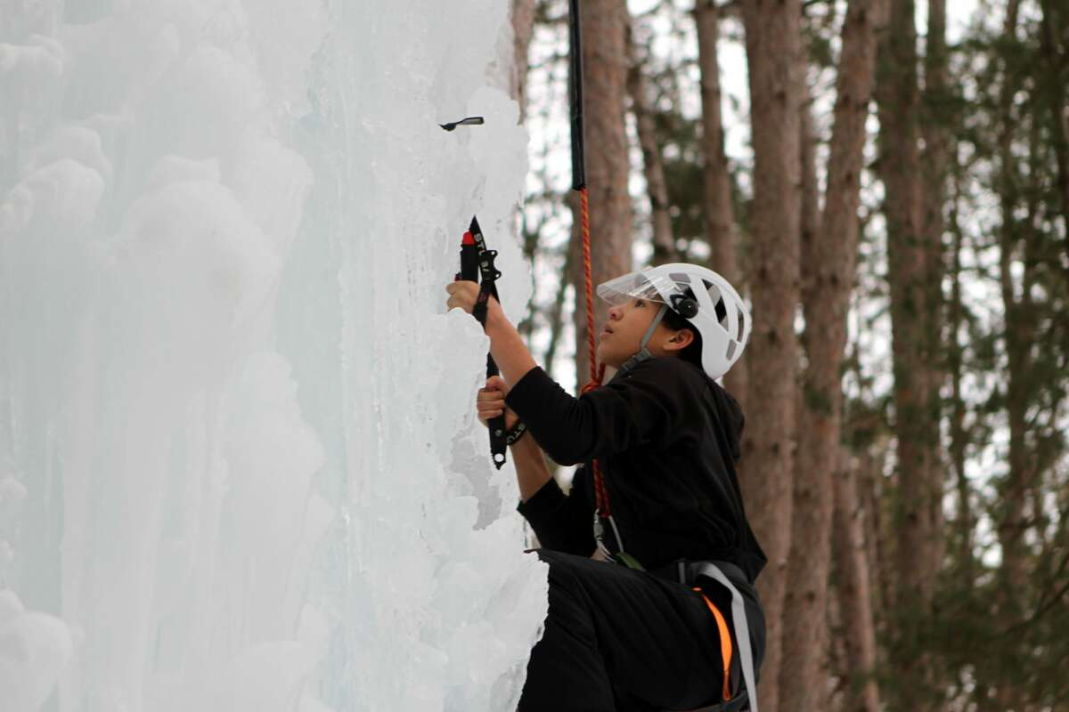 Winterfest made its annual return to CranHill Ranch on Sunday. Ice climbing, broom ball, ice skating, and sledding were just some of the frozen activities taking place. CranHill Ranch will host a second day of Winterfest on Feb. 21.