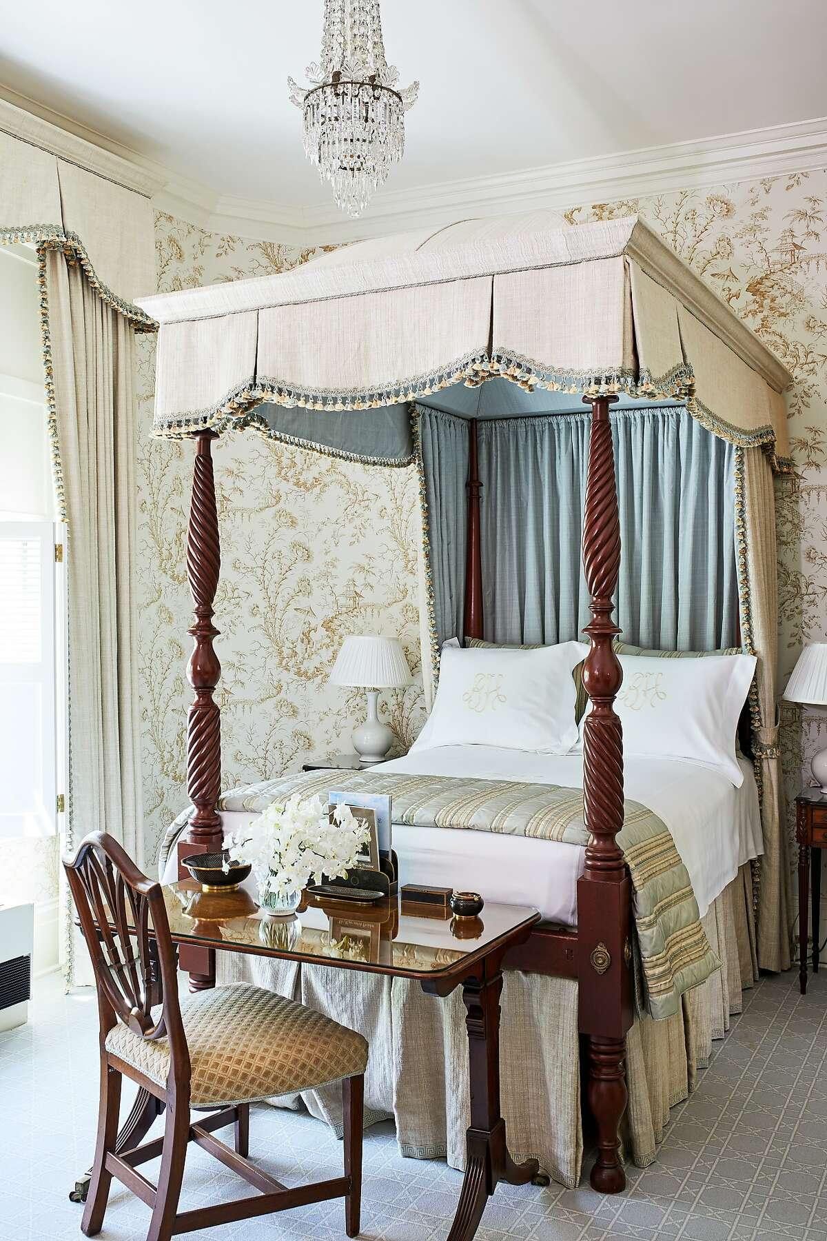 A Blair House bedroom.