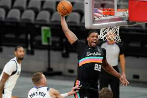 Rudy Gay rejuvenated his career in San Antonio after an Achilles tendon injury threatened to derail it.