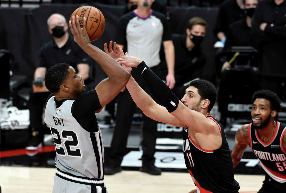 Rudy Gay's 21 points against Portland on Jan. 18, where he made a career-best five 3-pointers, harkened back to his days as a team's featured scorer.