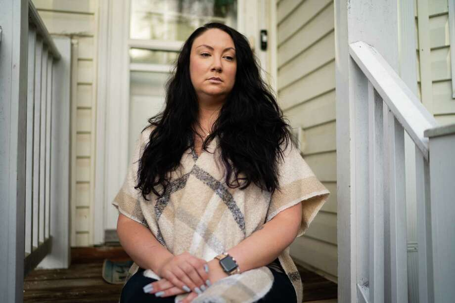 Elizabeth O'Donnell, 30, of the District of Columbia had a stillborn delivery and is being denied maternity leave. Photo: Washington Post Photo By Sarah L. Voisin / The Washington Post