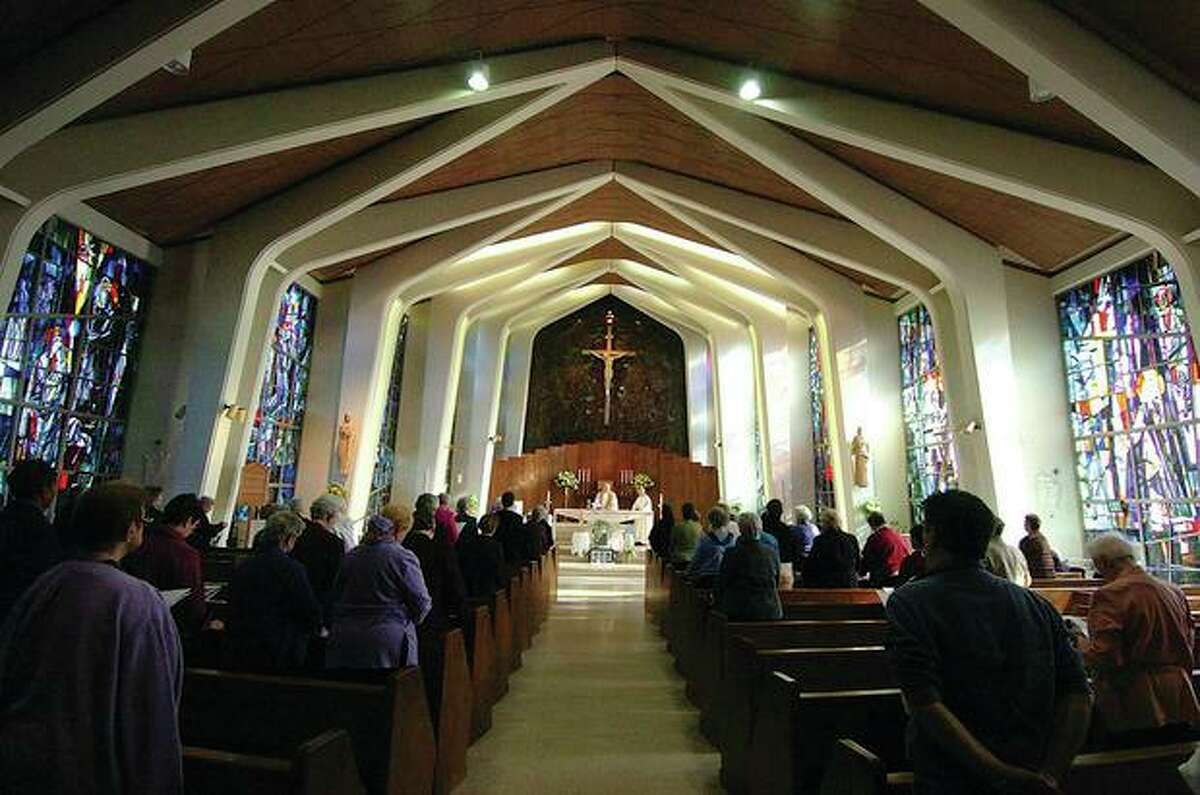 After the nuns moved out in August, First Selectwoman Lynne Vanderslice confirmed that there have been talks over the possible sale of the Villa Notre Dame at 345 Belden Hill Road as multiple suitors have reached out.