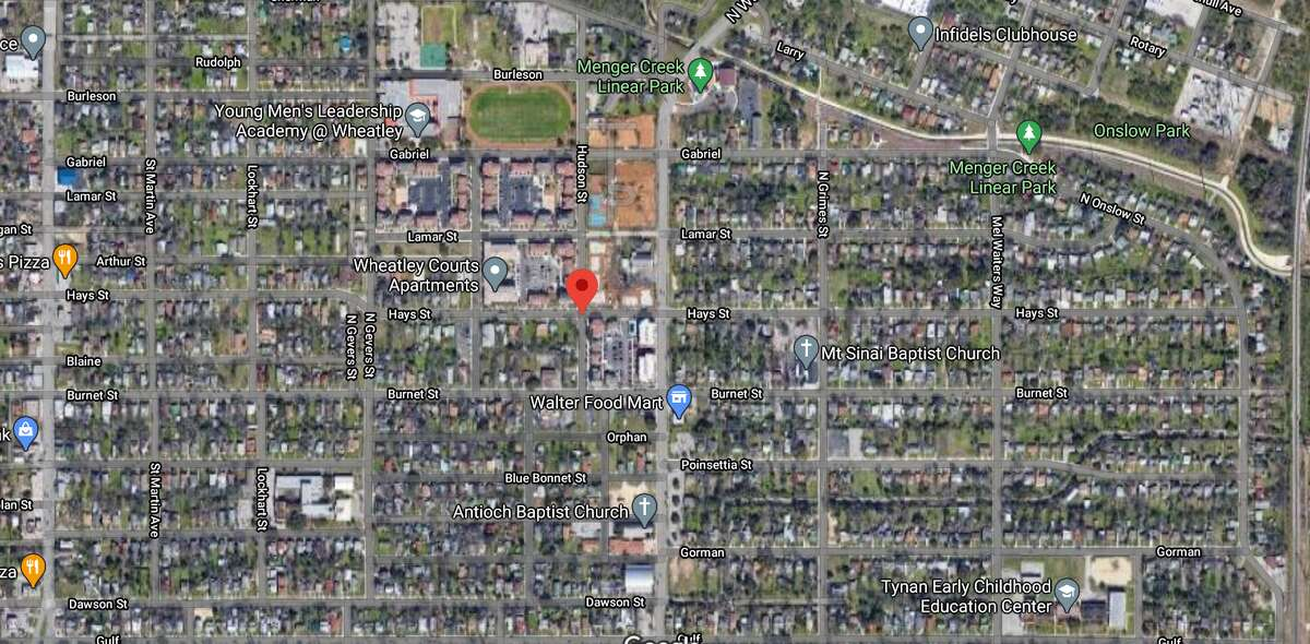Officials have identified the man who was killed while sitting in a carin the 1900 block of Hays Street Friday night.