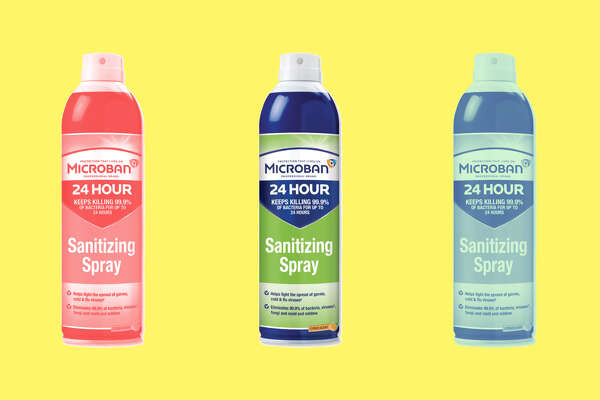 Microban® 24-Hour Disinfectant Sanitizing Spray, $5.99 at Office Depot