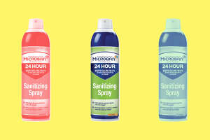 Microban® 24-Hour Disinfectant Sanitizing Spray , $5.99 at Office Depot