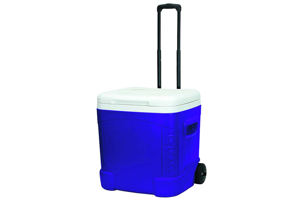 Igloo Ice Cube 60 Quart Roller Coolerfor $24.18 at Amazon