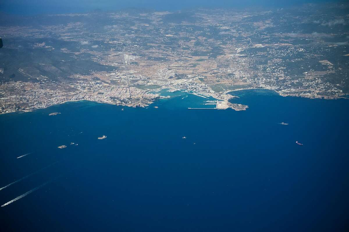 Overview of Ibiza on May 12, 2016 in Ibiza, Spain. Aplidin is made from Aplidium albicans - a type of