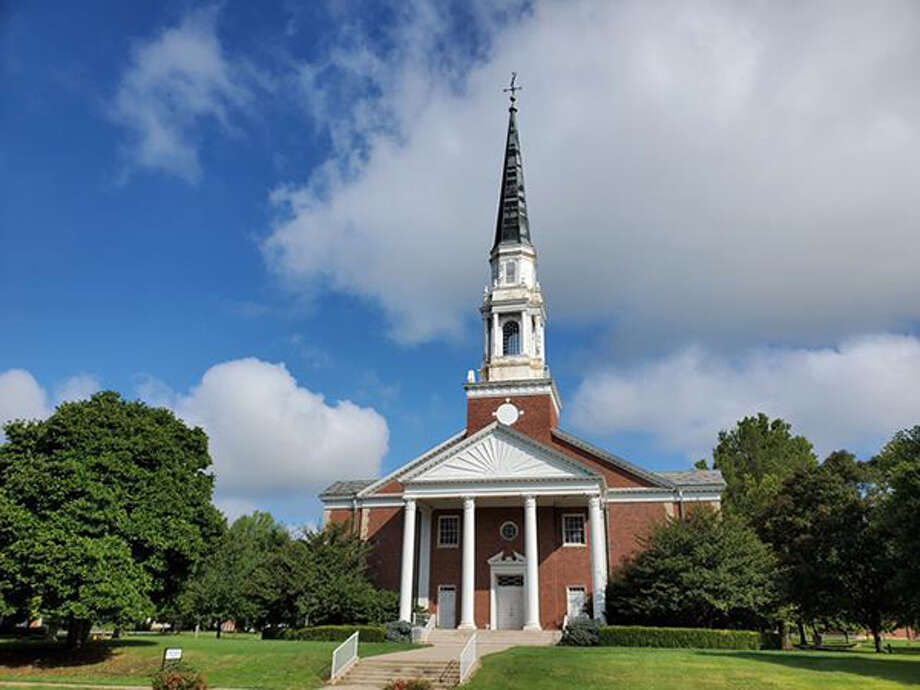 The Jacksonville Plan Commission is being asked to approve a zone change that would allow Annie Merner Chapel on the campus of the shuttered MacMurray College to be used as a special events hall. Photo: Journal-Courier