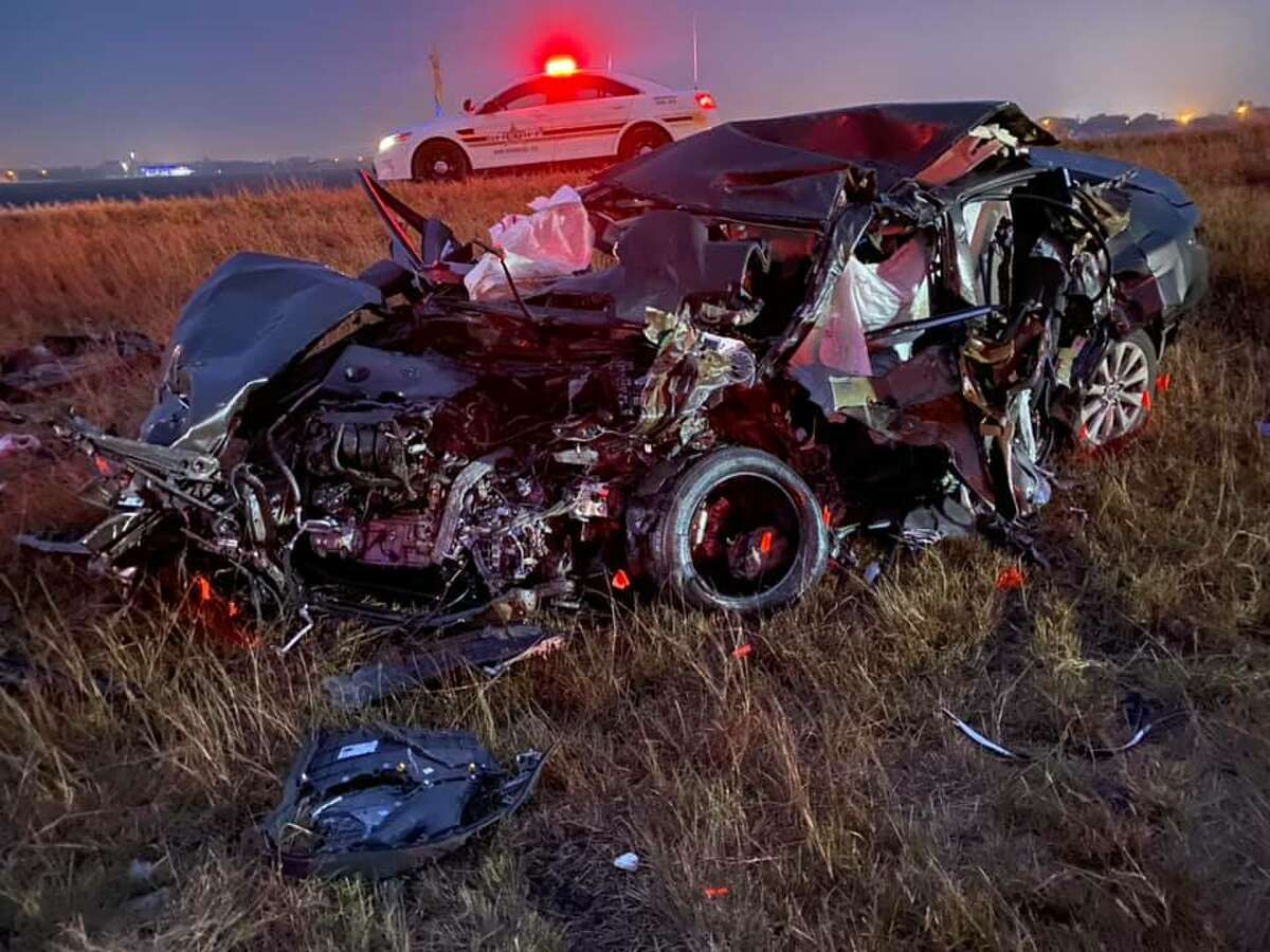 Two San Antonio teenagers were among six people killed in a wrong-way crash Saturday on Interstate 37 in South Texas.