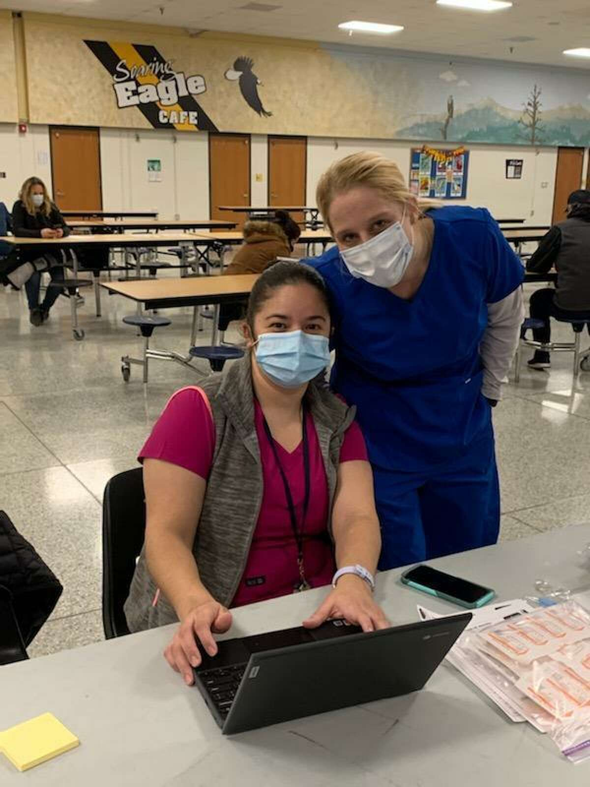 Trumbull is stepping up its COVID-19 vaccination rate as more volunteers receive certifications to administer vaccines, and more doses become available.