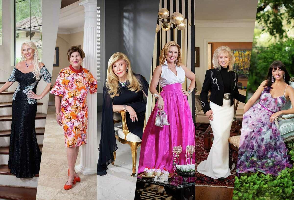 Women of Distinction, from left: Tracy Faulkner, Robin Angly, Sherri Zucker, Donae Chramosta, Pat Mann Phillips and Beth Zdeblick.