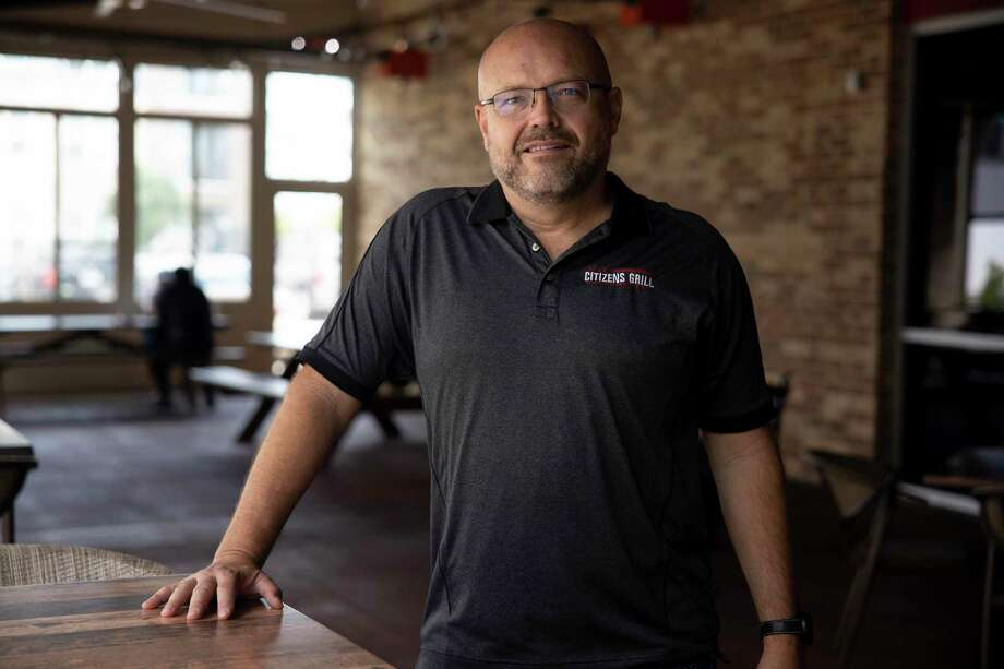 Jim Hallers, owner of Citizens Grill and Tailgators, poses for a portrait, Thursday, Aug. 27, 2020. Hallers is also on the board of the Texas Restaurant Association. Photo: Gustavo Huerta, Houston Chronicle / Staff Photographer / 2020 © Houston Chronicle