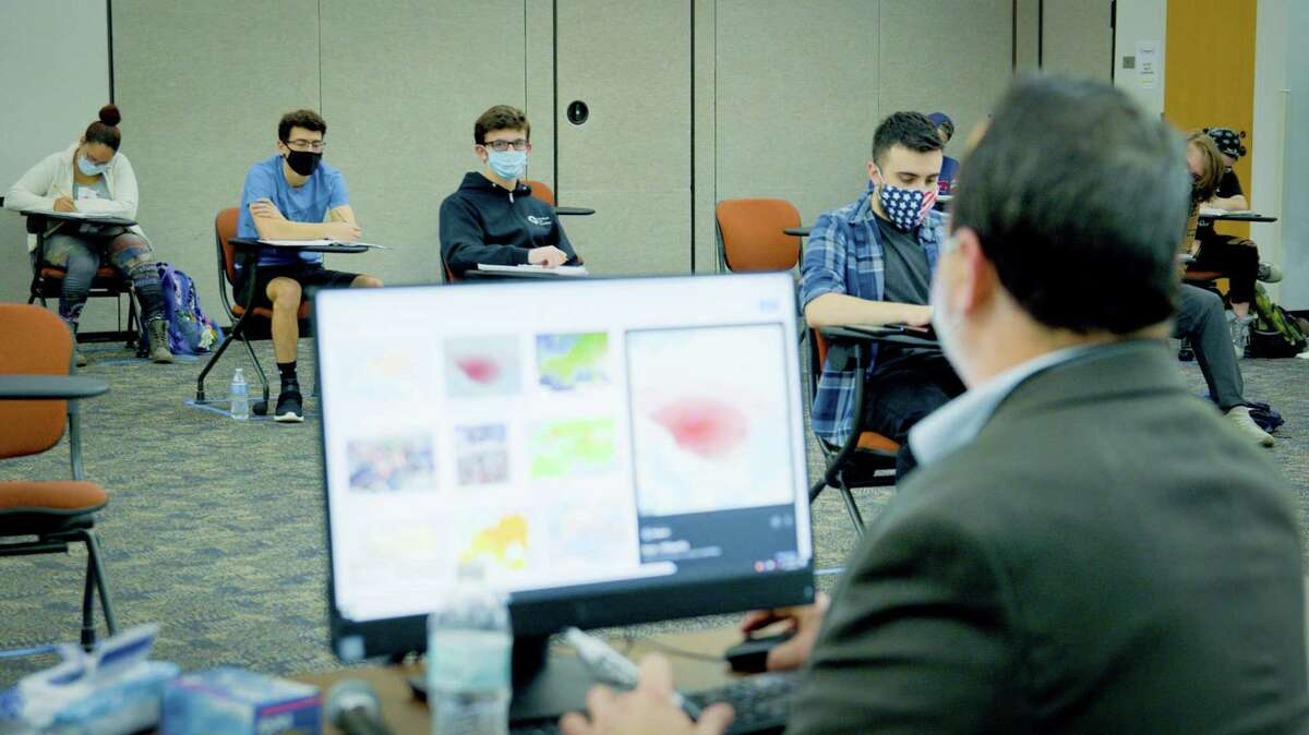 Middlesex Community College students attend classes in Middletown.