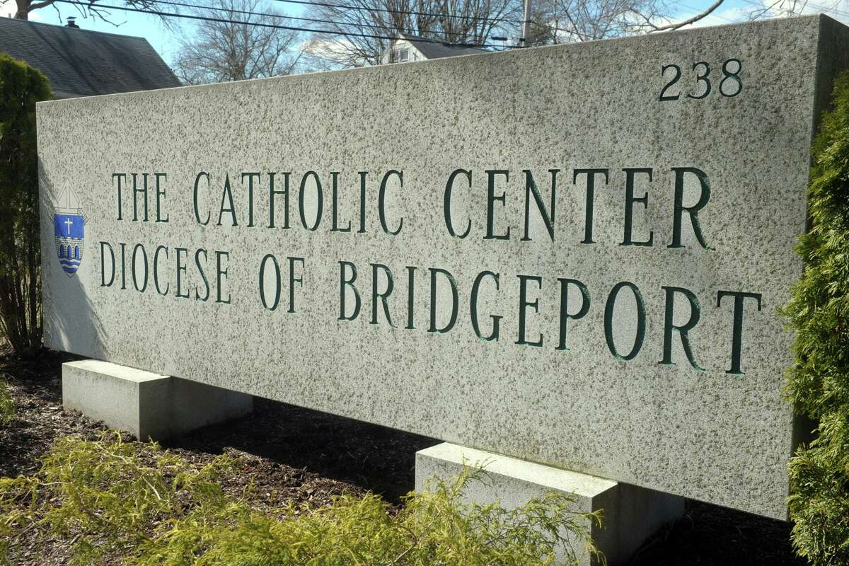 The Catholic Center, headquarters of the Diocese of Bridgeport, in Bridgeport, Conn.