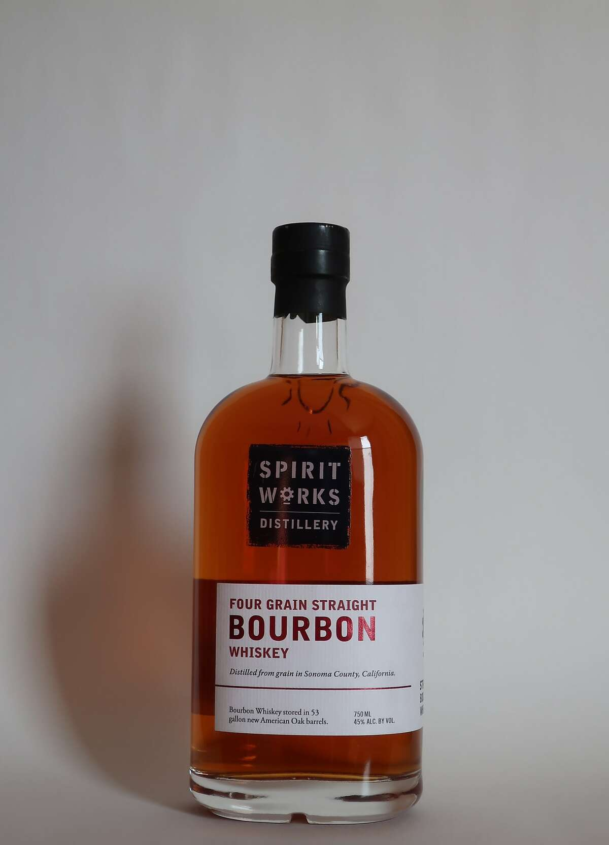 Good Food Awards winner Spirit Works Distillery was honored for its Four Grain Straight Bourbon, made in Sebastopol.