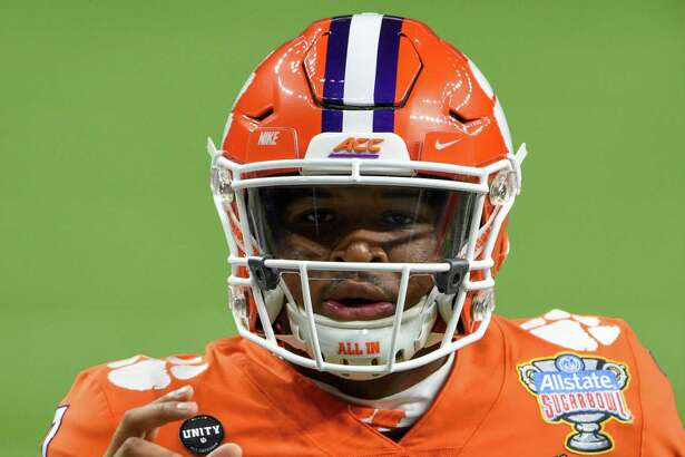 Clemson quarterback Taisun Phommachanh warms up before the Allstate Sugar Bowl College Football Playoff Semifinal against Ohio State on Jan. in New Orleans.
