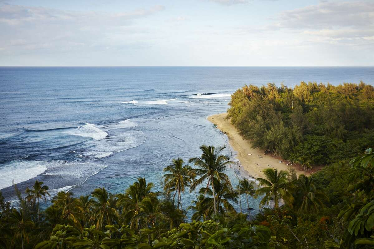 Ke'e Beach is considered a sacred space, but it's also one of the most visited places in Kauai.