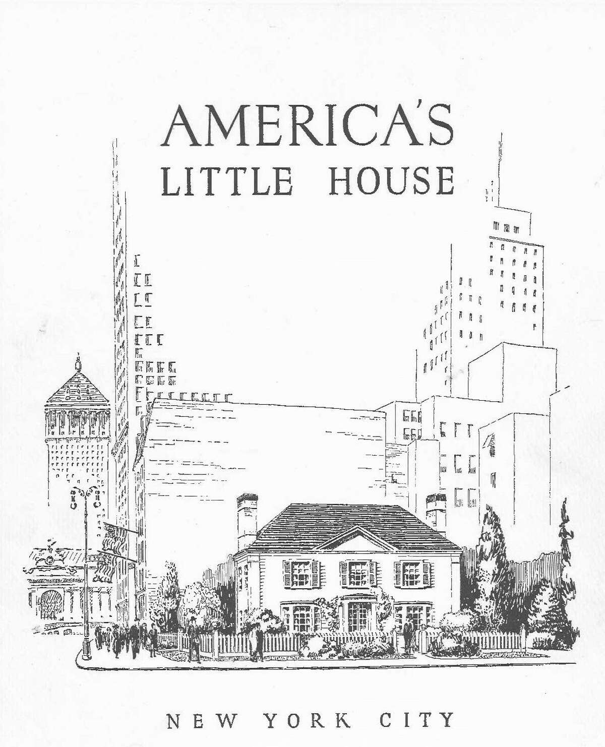 America's Little House cover of the brochure