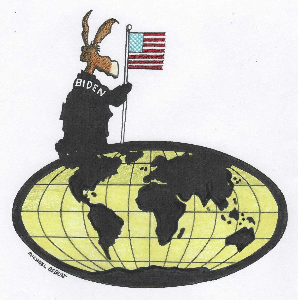 Illustration for leadership op-ed.