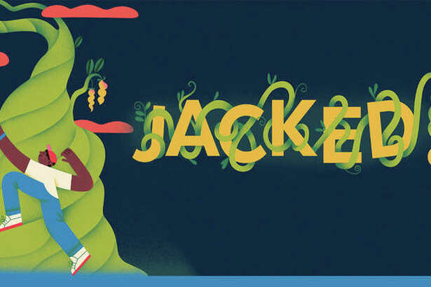 """Metro Theater Company presents """"Jacked!,"""" reworking what was initially planned as an in-person touring production into an imaginative, fully virtual experience that combines hand-drawn animation, spoken word poetry and behind-the-scenes studio footage. """"Jacked!"""" is set to a fresh, energetic hip-hop score by Jackie """"Jackpot"""" Sharp, featuring vocals and rap by the popular St. Louis punk pop duo, The Knuckles."""
