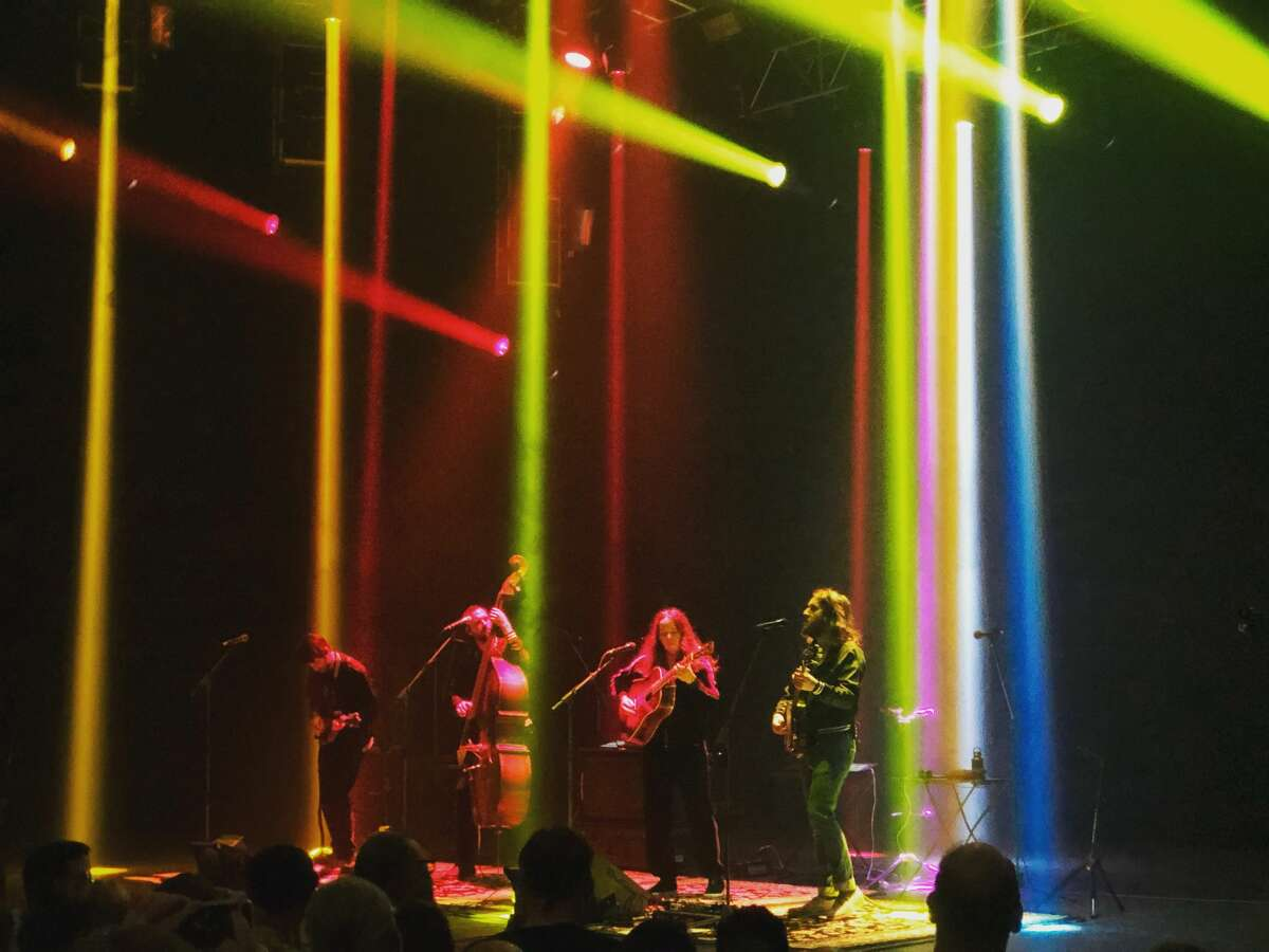 Billy Strings performs at the Capitol Theatre in Port Chester, N.Y. on Jan. 18, 2020. During their six shows in 1971, the Dead conducted