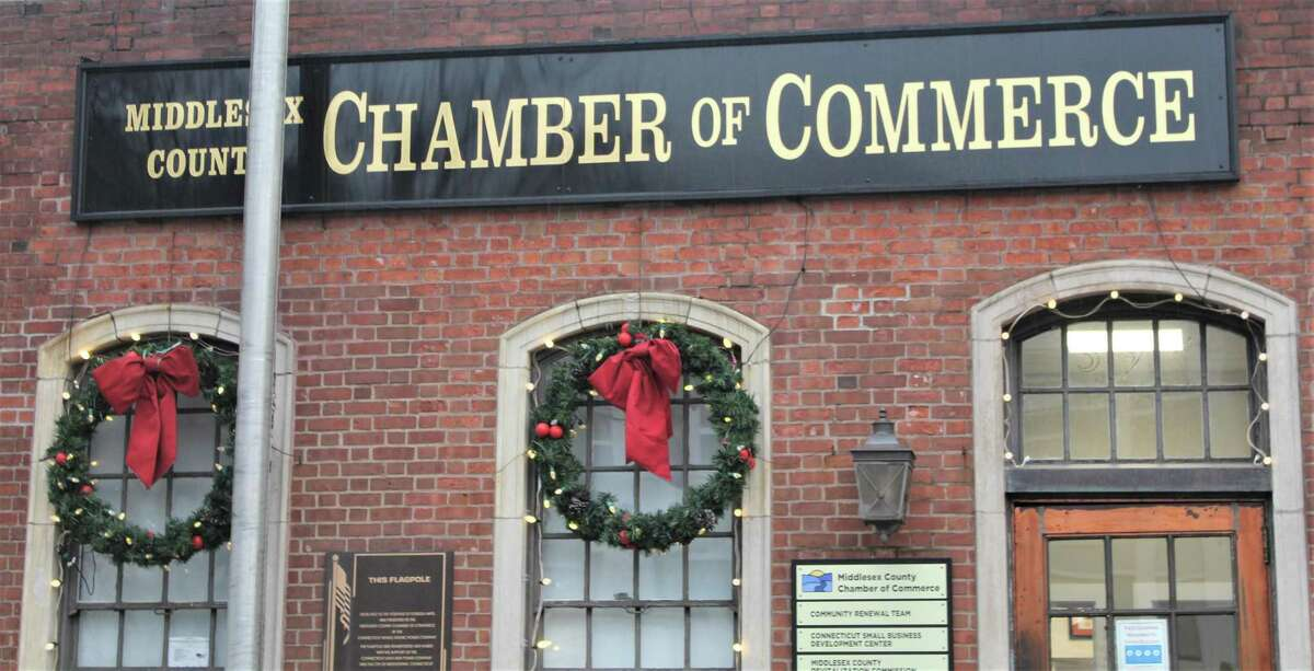 The Middlesex County Chamber of Commerce is located at 393 Main St. in Middletown.