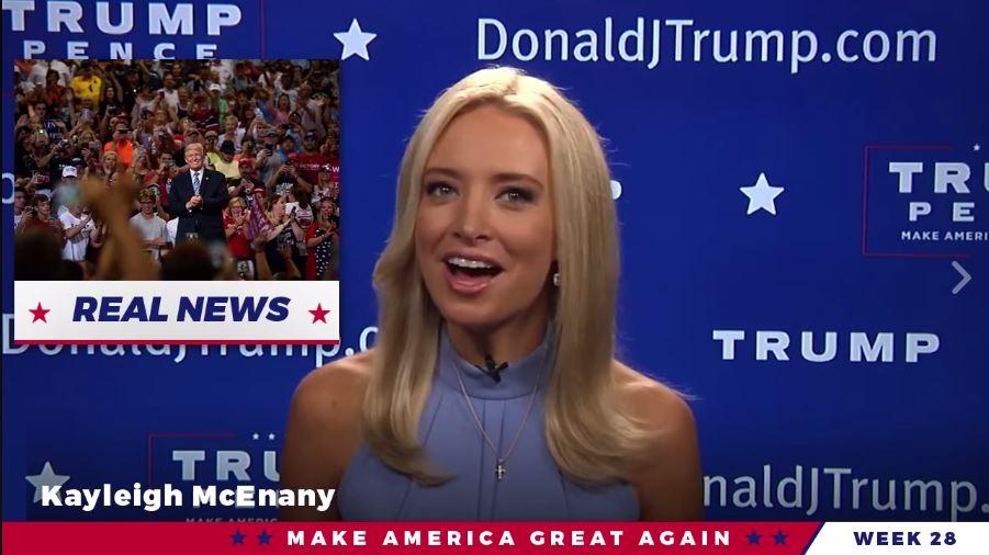 Fox News Held Talks With Former White House Press Secretary Kayleigh McEnany