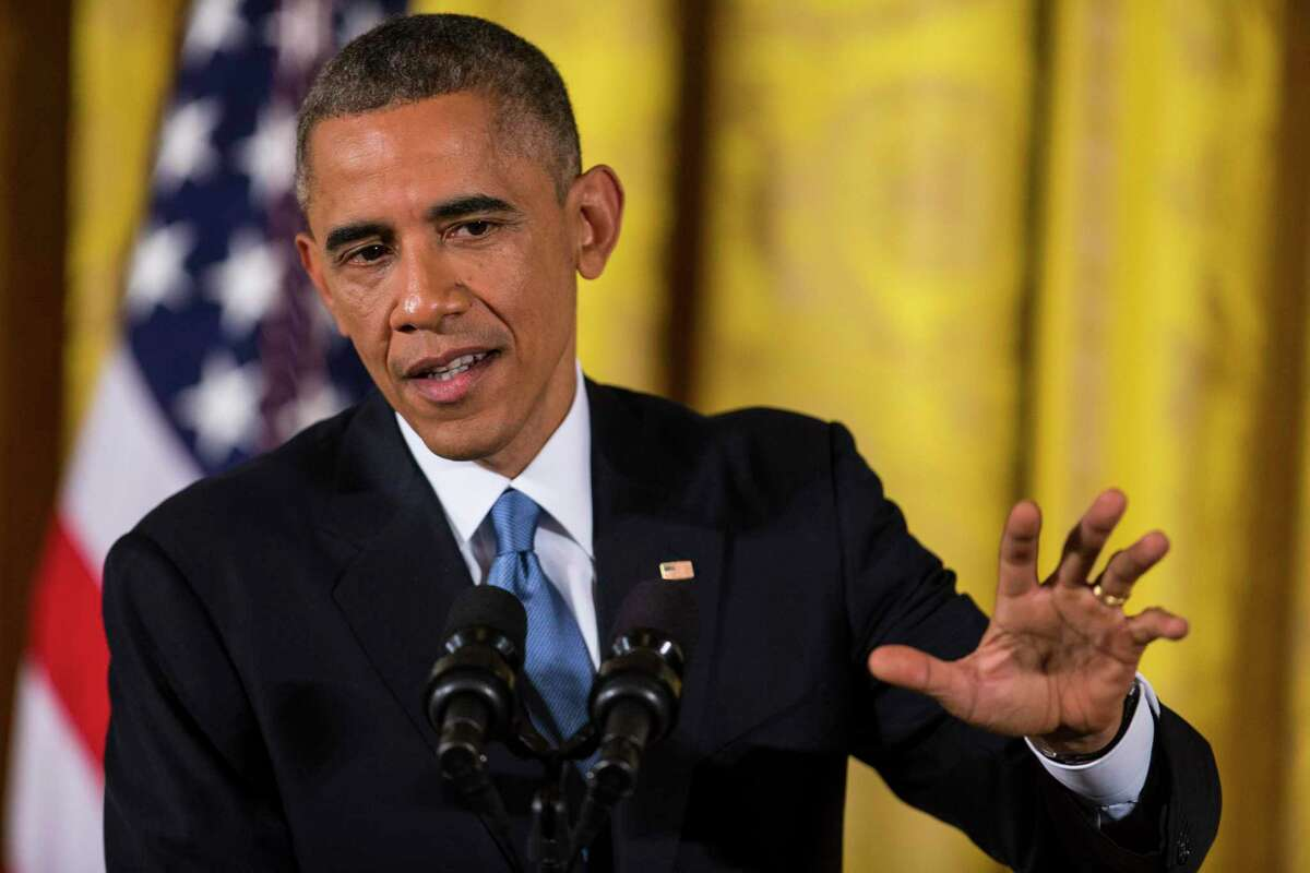 President Barack Obama speaking in 2014. Too often during the Obama presidency liberals held back in calling for a bold, progressive agenda.