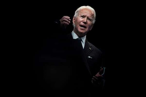 President Biden speaks his week at the White House.