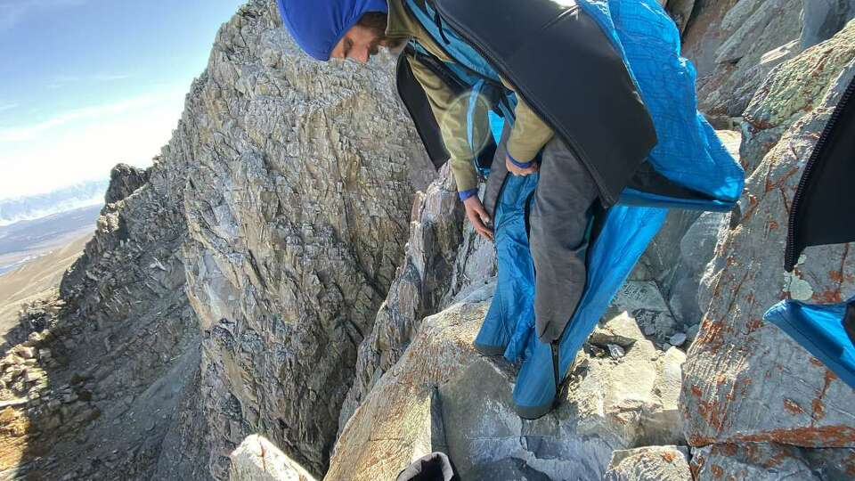 The secret BASE jumpers of California
