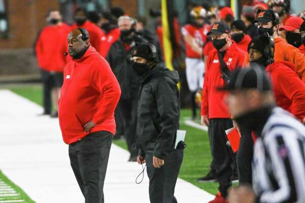 Maryland Coach Michael Locksley has two more positions to fill on his coaching staff.