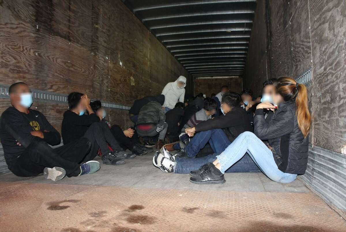 Laredo Sector Border Patrol interdicted several human smuggling attempts at its checkpoints and apprehends 172 immigrants.