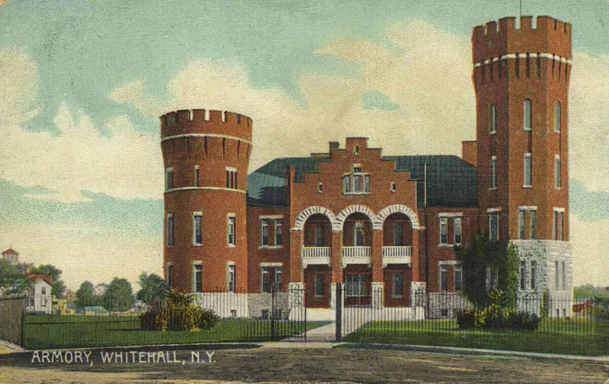 1899 Whitehall Armory is for sale at 62 Poultney Street Whitehall, NY 12887. View listing on website.