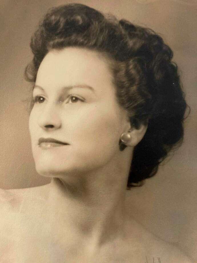 Cecelia Freeman in 1945. (Photo provided)