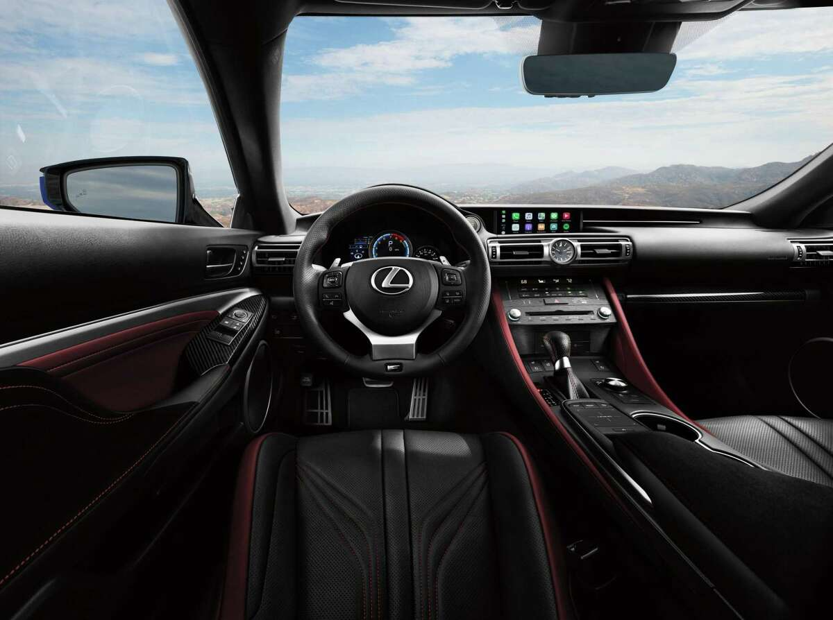The 2021 Lexus RC350 is a stylish two-door coupe with all the hallmarks of a Japanese-built luxury car - that is, impeccable accommodations and workmanship.