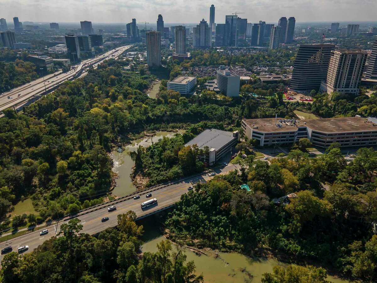 The cities of Houston and Bellaire are planning several flood relief projects near Buffalo Bayou.