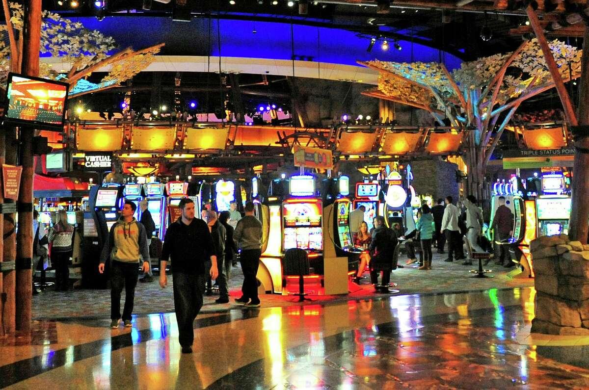 The Mohegan Sun Casino in Uncasville