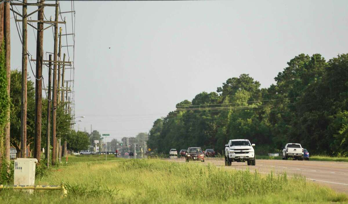 Cars drive down North Major Drive Friday evening. Photo taken on Friday, 06/28/19. Ryan Welch/The Enterprise