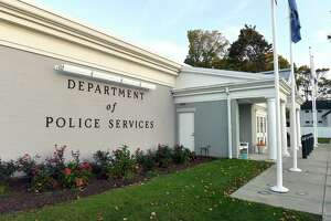 The Old Saybrook Department of Police Services photographed on October 15, 2020.