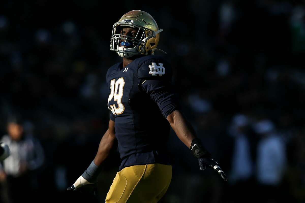 Ovie Oghoufo has decided to play his final season at Texas as a graduate transfer from Notre Dame.