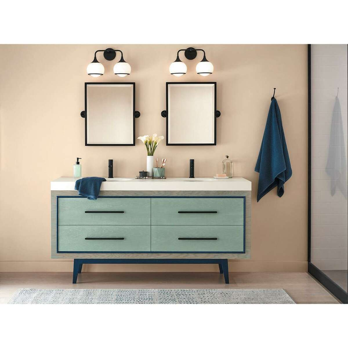 Minwax has named Vintage Blue, a soft blue-green stain, as its first Color of the Year.
