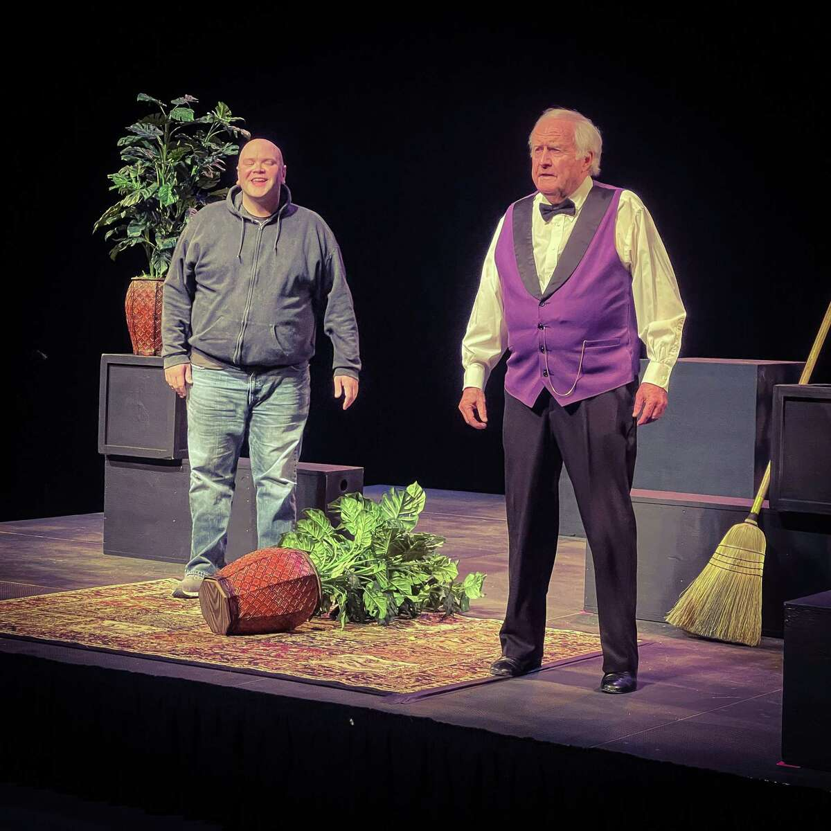One of the Warner Theatre's productions in the 9th Annual International Playwrights Festival is