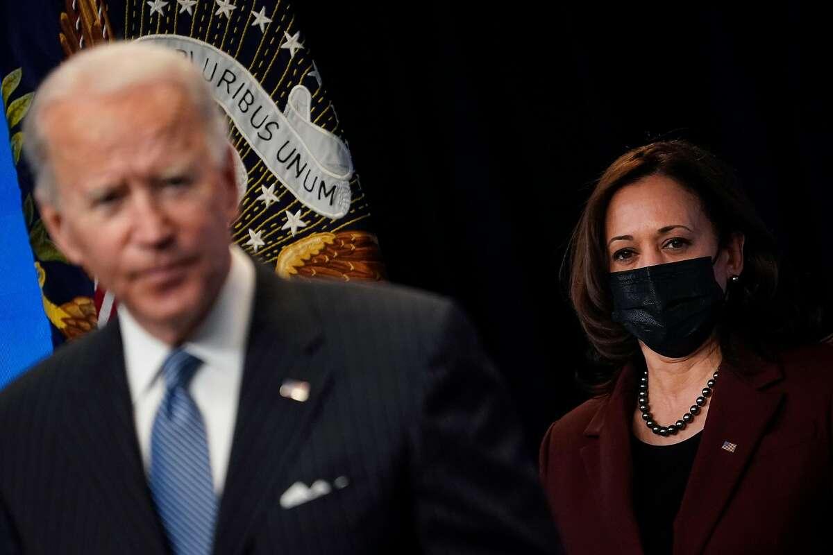 President Joe Biden and Vice President Kamala Harris