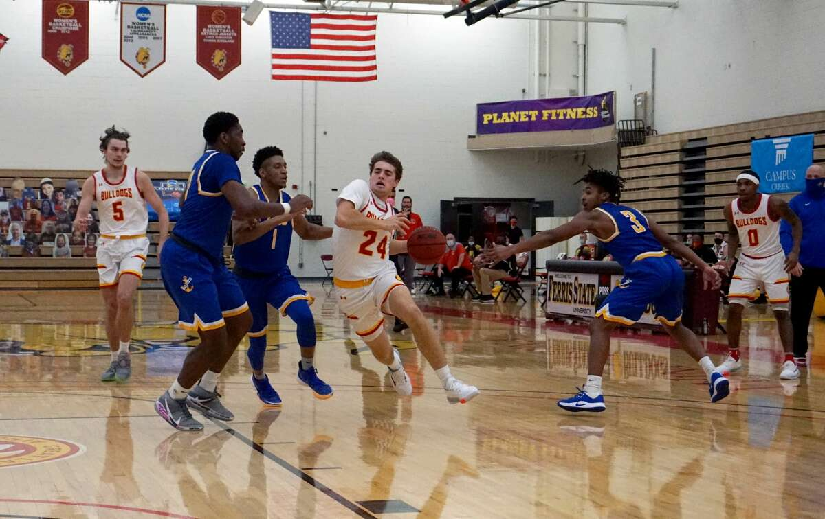 Ferris State's men's basketball team was taken down 80-69 by Lake Superior State Tuesday evening at Wink Arena.
