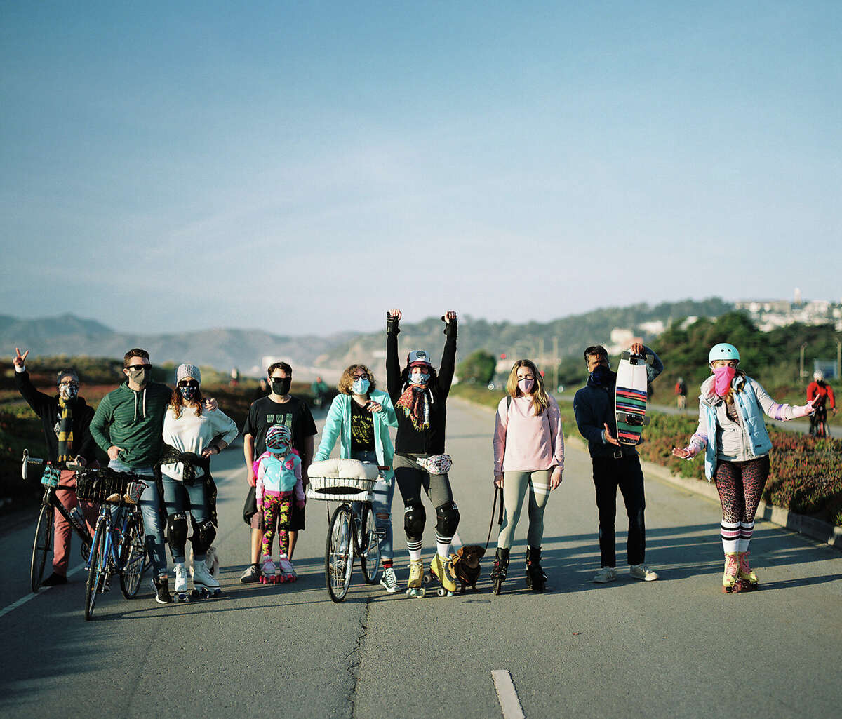 Radha and the Great Highway Skate Crew: