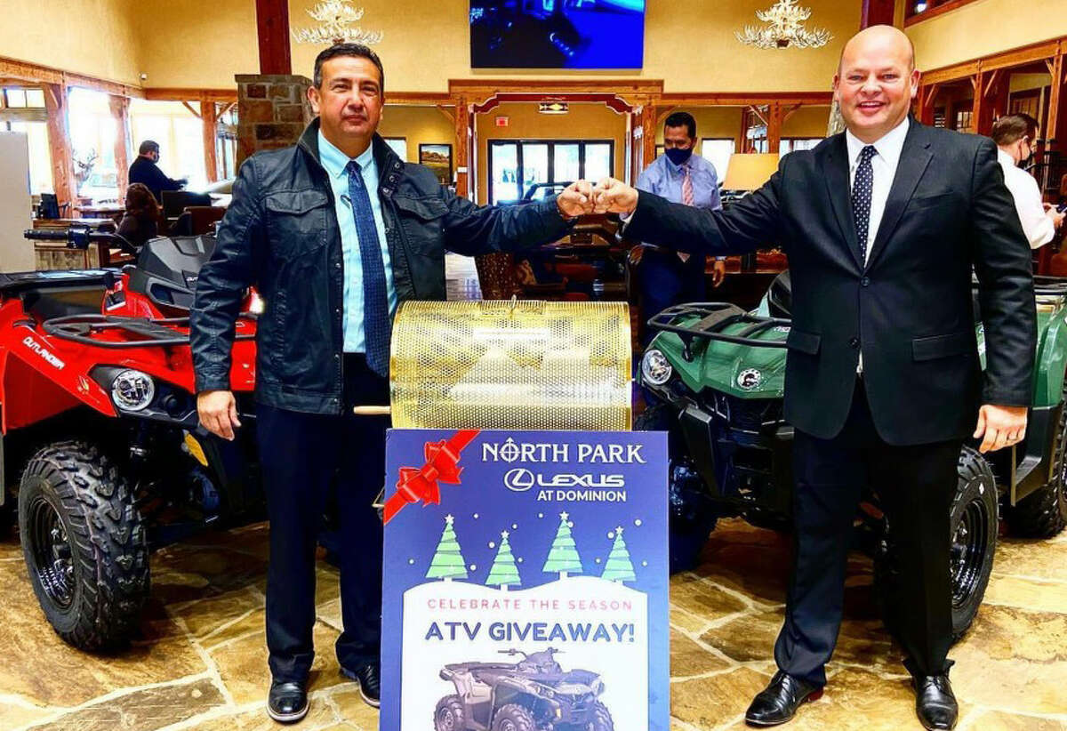 North Park Lexus at Dominion celebrated the holidays in an exciting new way this year - with its first-ever Celebrate the Season ATV Giveaway.