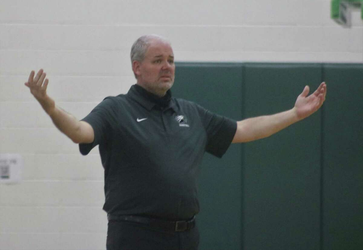 Pasadena High School basketball coach Jon Pillow's excitement for his players is at least this wide now that the Eagles are officially state playoff bound.